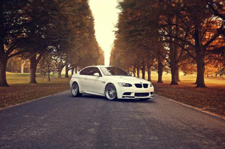 Заставки BMW, M3, E92, white