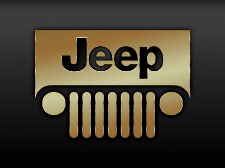 Обои jeep, джип, логотип, эмблема