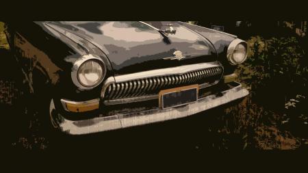 Фото машина, авто, волга, ретро