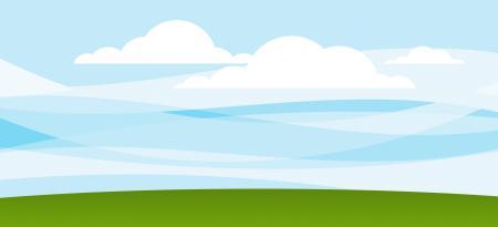 Заставки минимализм, арт, трава, небо
