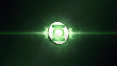 Обои Green lantern, logo, green
