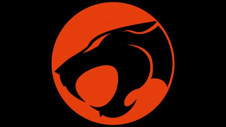 Обои Thundercats, logo, red, black