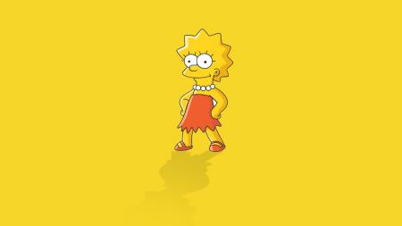 Обои Лиза, симпсоны, liza, simpsons