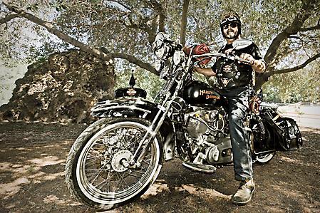 Фото Мотоцикл, harley-davidson, байкер, стиль