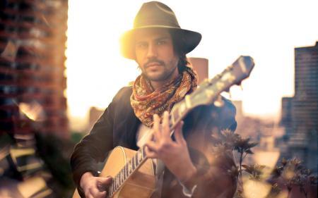 Фотографии парень, гитара, музыка