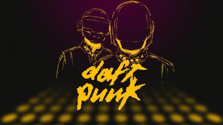 Обои Вектор, Музыка, Дафт Панк, Duft Punk