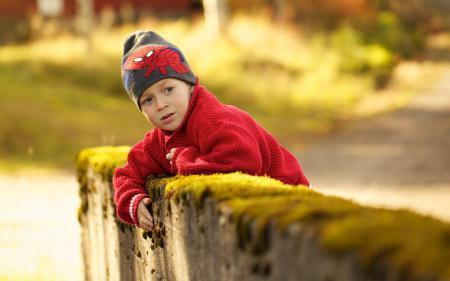 Фото мальчик, осень, настроение