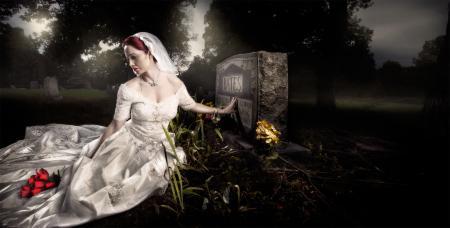 Фотографии надгробный камень, скорбь, могила, девушка