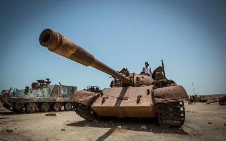 Фотографии танк, оружие, лом