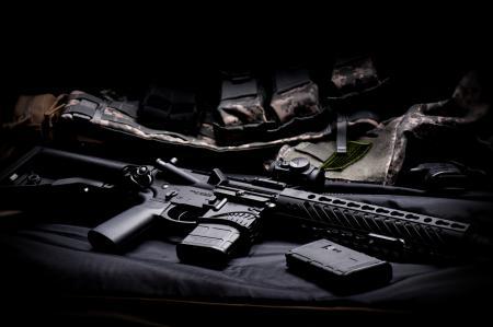 Заставки M4, штурмовая, полуавтоматическая, винтовка