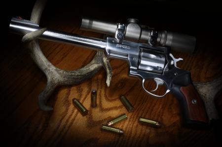 Обои Ruger, Super Redhawk, револьвер, ствол