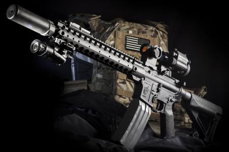 Картинки M4, штурмовая, полуавтоматическая, винтовка