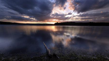 Заставки озеро, ночь, пейзаж