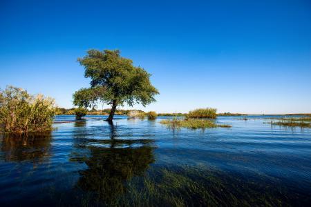 Заставки озеро, небо, лето, пейзаж