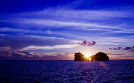 Фото море, вода, небо, солнце
