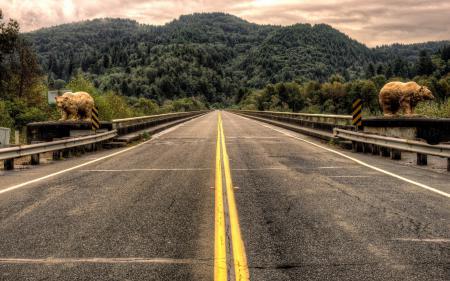 Заставки дорога, пейзаж, фон