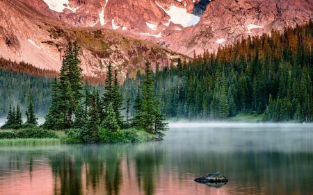 Фотографии озеро, горы, пейзаж