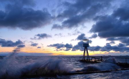 Обои природа, пейзаж, море, волны