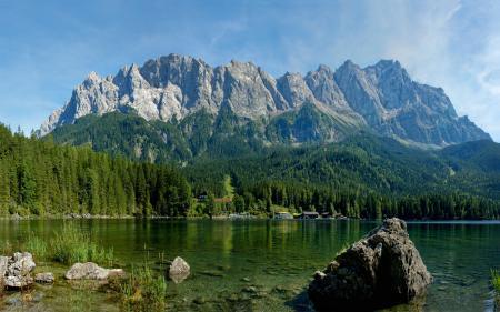 Заставки природа, весна, горы, река