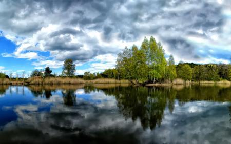 Фотографии пейзажи, обои на рабочий стол, дервья, вода