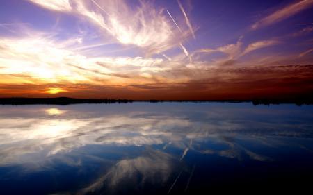 Картинки пейзажи, закат солнца, обои, красота