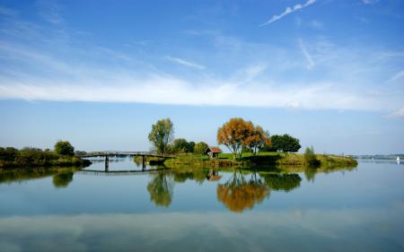 Обои фото, обои, пейзажи, река