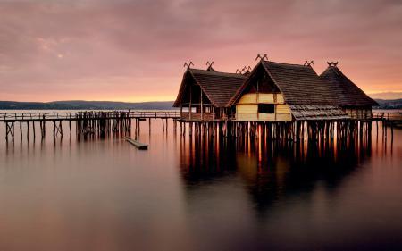 Заставки фото, дома, пейзажи, вода