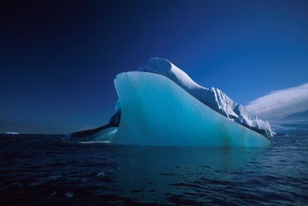 Заставки море, айсберг, вода, лед