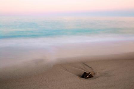 Картинки утро, море, пляж, камень