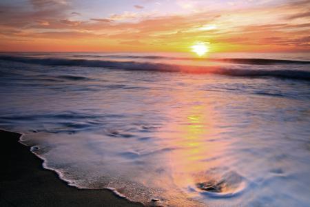Обои море, берег, пляж, пенка