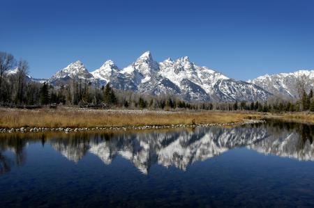Фото Природа, пейзаж, горы, озеро