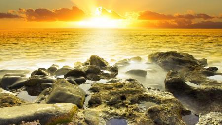 Фотографии природа, пейзаж, река, море