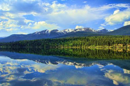 Фотографии Reflection, hdr, природа, пейзаж