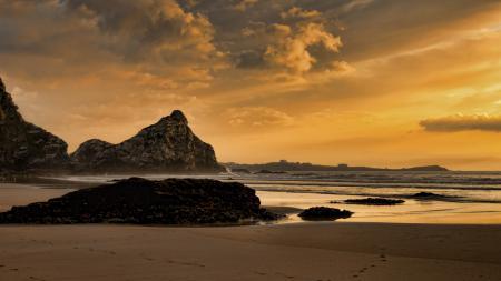 Фотографии пейзаж, природа, закат, море