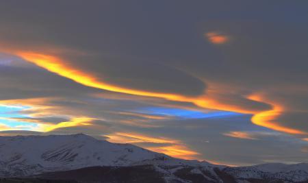 Фото aliens, небо, свет, облака