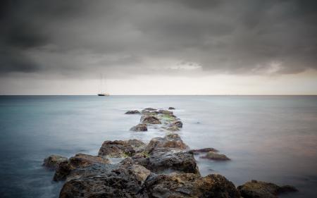 Фотографии море, корабль, пейзаж