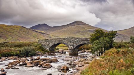 Фотографии мост, река, пейзаж