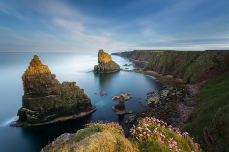 Фото Duncansby Stacks, Caithness, Scotland, North Sea