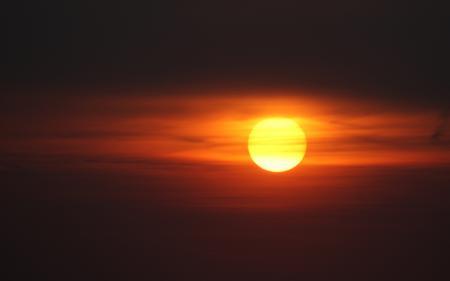 Фото закат, небо, облака, романтика