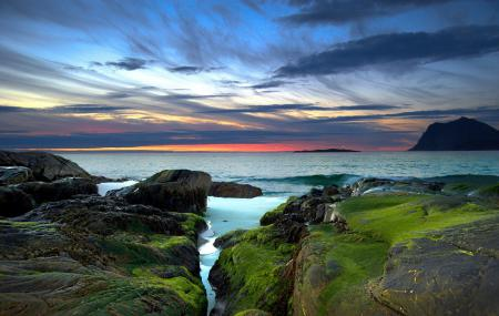 Заставки небо, море, камни