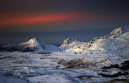 Картинки steinliland, Норвегия, горы, снег