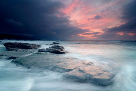 Фотографии небо, тучи, свет, камни