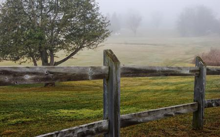 Заставки забор, поле, пейзаж
