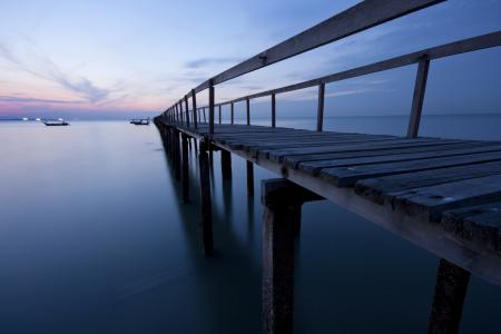 Картинки река, мост, ночь, пейзаж