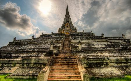 Обои Ayutthaya, Thailand, пейзаж