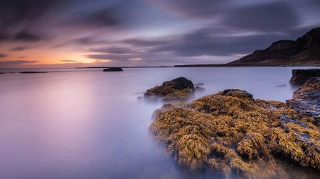Фотографии море, ночь, скалы, пейзаж