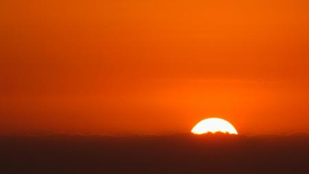 Фото солнце, закат, облака, небо
