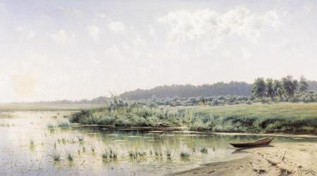 Фотографии Крыжицкий, Перед полуднем, картина