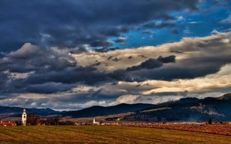 Фотографии горы, небо, облака