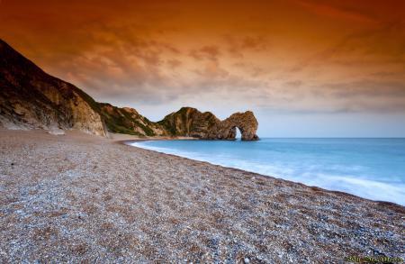Фотографии пляж, скала, арка, море